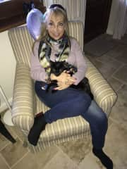 Sami and me in house sit Selimiye,Turkey.  Housesit was only supposed to be 3 months, but stayed 7 months!