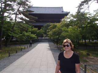 Kerrie in Japan
