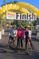 Charity ride with friends