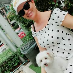 At Doggy Park with Bee, Bangkok