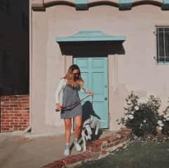 Jenn and Biz (her housesit in LA)