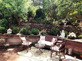 Intimate Garden Patio