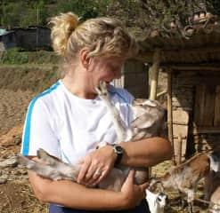 Farm visit in Nepal
