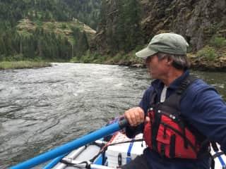 rafting the Grande Ronde, northeastern Oregon