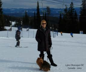 On the slopes with Joey in the Okanagan BC
