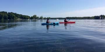 We love to kayak