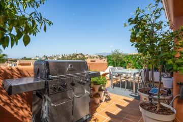 Enjoy a nice bbq on our cosy terrace full of olive, lemon, lime and mandarin trees.