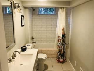 Downstairs (guest) bathroom