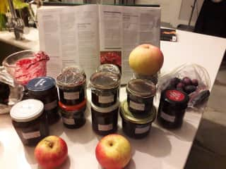 Damson, apple n black berry jam Meath sit.
