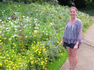 Emma wild flowers at Kew Gardens