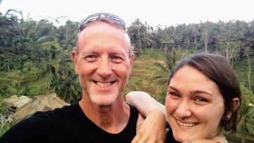 My daughter and I in Bali!
