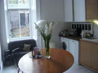 A tidy kitchen table, not always!