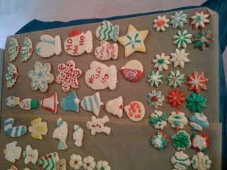 We love baking especially at the holidays.