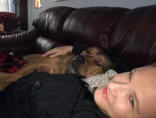Kat & Grand Dog Camden