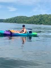 kayaking at Caesar's Creek State Park