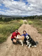 Daily hike at a house sit in Temecula, California