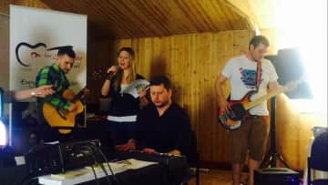 Christine is a Song writer -  in Darling Buds Farm Kent with the Songwriting Academy