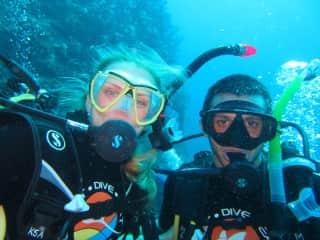 We love diving!