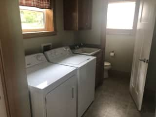 laundry room with a 3rd bathroom on main level