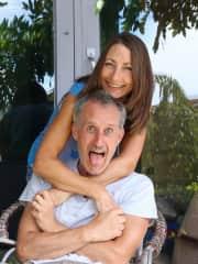 Megan and Manu