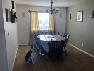 Dining room on main level
