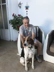 Tim with Draco-Spain