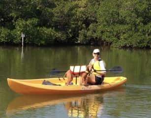 Kayaking with my Sadie Girl