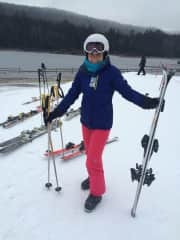Love all four seasons and especially opportunities to ski!