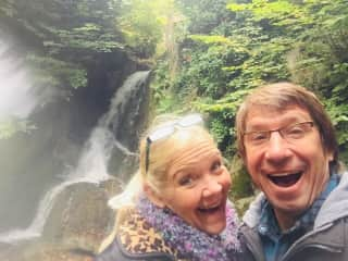 Wendell and Patricia In Scotland