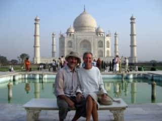 The Taj Mahal, of course!