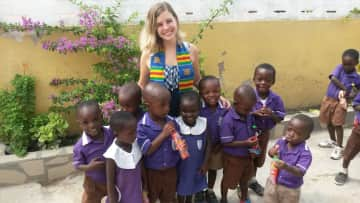 i was 3 month in ghana and worked in a school