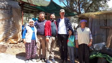 Visiting a nomad family in Turkey