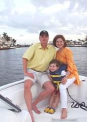 Dana, Bill and John-Paul