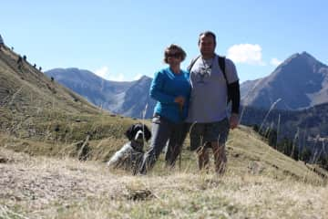 We love walking in the Pyrenees