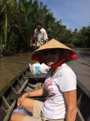 Floating down the MeKong Delta