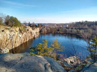 A beautiful Quarry in Rockport