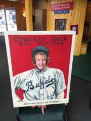 I'm a big baseball fan and totally enjoyed visiting the Baseball Hall of Fame two years ago.