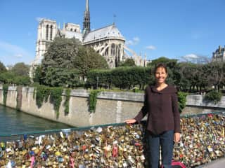 I did a work exchange in the Burgundy region of France and was able to arrange a few days in Paris before my departure.  It was such a thrill!