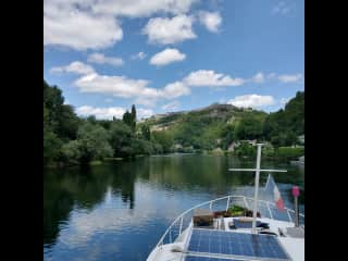 Cruising on the Doubs