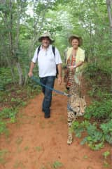 Peter and Susan in Zambia