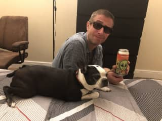 Brian with Max
