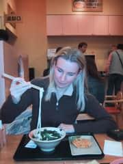 Karin in Tokio