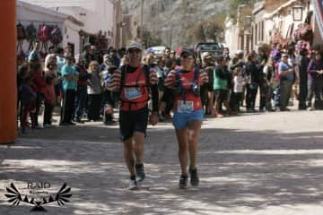 Wouter & Sonia completing the El Raid ultramarathon in North-West Argentina