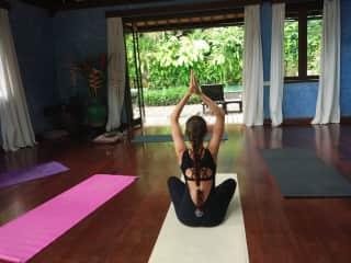My morning yoga