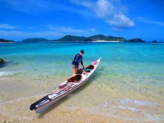Kayaking in Japan