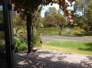 From our front door in Port Fairy