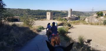Horse riding in Spain !