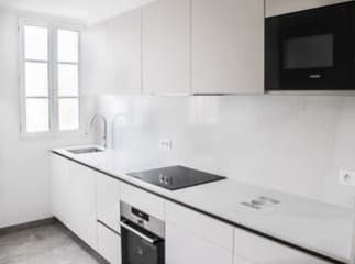 Kitchen-Dishwasher, Induction Cooktop and Oven, Microwave, Refridgerator and Freezer