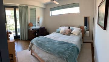 Guest Master Bedroom with private balcony