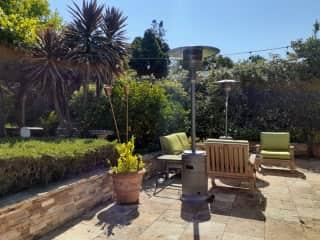 Sunny patio